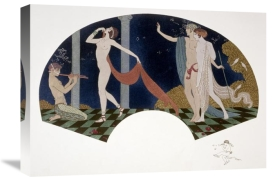 Georges Barbier - Fan: Four Figures