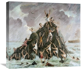 Vittorio Bianchini - People Engulfed By The Flood