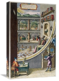 Joan Blaeu - Tycho Brahe and Others With Astronomical Instruments