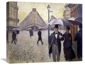 Gustave Caillebotte - Paris Street--Rainy Weather (Study)