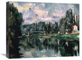 Paul Cezanne - Bridge Over the Marne at Creteil