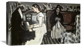 Paul Cézanne - Girl at the Piano -The Tannhäuser Overture