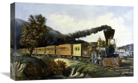 Currier and Ives - American Express Train