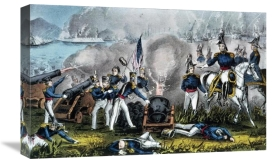 Currier and Ives - Siege of Vera Cruz March 1847