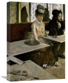 Edgar Degas - In a Cafe (Absinthe)