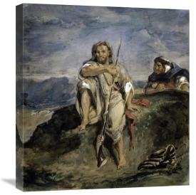 Eugene Delacroix - Arab Hunter