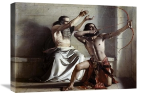 William Dyce - Joas Shoots The Arrow of Redemption