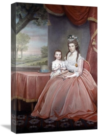 Ralph Earl - Mrs. Elijah Boardman and Her Son