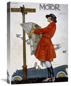 Ruth Eastman - Motor Magazine - Cover Image