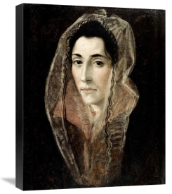 El Greco - Portrait of a Lady