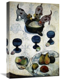 Paul Gauguin - Still Life with Three Dogs, (Nature Morte aux Trois Chiots)
