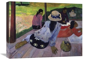 Paul Gauguin - The Nap (La Siesta)
