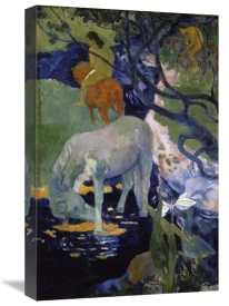 Paul Gauguin - The White Horse (Le Cheval Blanc)