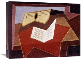 Juan Gris - Guitar With Sheet of Music