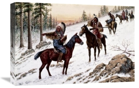 John Hauser - Indians On The Trail