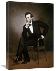 George Peter Alexander Healy - Abraham Lincoln