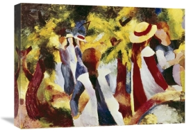 August Macke - Girls Among Trees