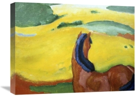 Franz Marc - Horse in the Landscape