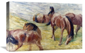 Franz Marc - Horses Out To Pasture