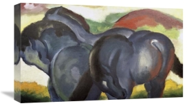 Franz Marc - Little Blue Horses