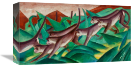 Franz Marc - The Monkey Frieze