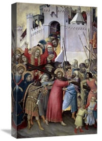 Simone Martini - Carrying of The Cross