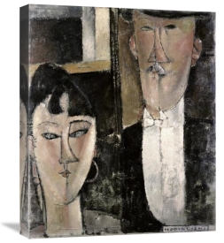Amedeo Modigliani - Bride and Groom