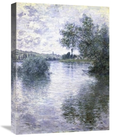 Claude Monet - The Seine at Vétheuil