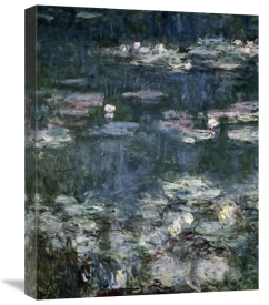 Claude Monet - Nymphéas - Water Lilies (detail)