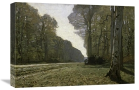 Claude Monet - Route du Bas Bréau