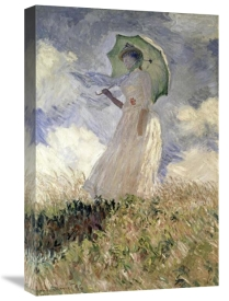 Claude Monet - Woman with a Parasol Turned to the Left, 1886