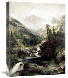Thomas Moran - Mountain of The Holy Cross, Colorado