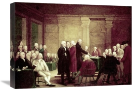 Robert Pine - Congress Voting Independence, c. 1784 - 1788