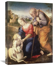 Raphael - Holy Family With The Lamb