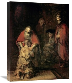 Rembrandt Van Rijn - Return of The Prodigal Son