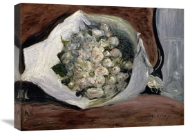 Pierre-Auguste Renoir - Bouquet in a Chair