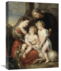 Peter Paul Rubens - The Virgin and Child with the Infant Saint John the Baptist and Saint Elizabeth