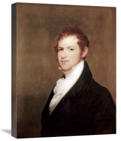 Thomas Sully - Portrait of Andrew Dexter Founder of Montgomery, Alabama