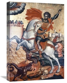 Tzanes - St. George Slaying The Dragon