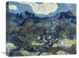 Vincent Van Gogh - Olive Trees With The Alpilles In The Background,Saint-Remy