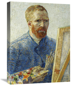 Vincent Van Gogh - Self Portrait in Front of Easel