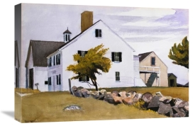 Edward Hopper - House at Essex, Massachusetts