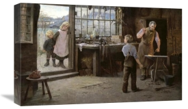 Hamlet Bannerman - His First Day at Work (Child Apprentice with Blacksmith)