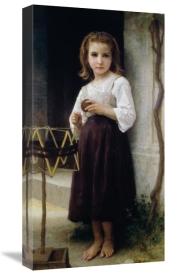 William-Adolphe Bouguereau - Child with a Ball of Wool