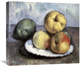 Paul Cezanne - Still Life with Apples & Peaches
