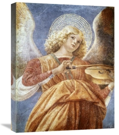 Melozzo Da Forli - Music Making Angel with Violin