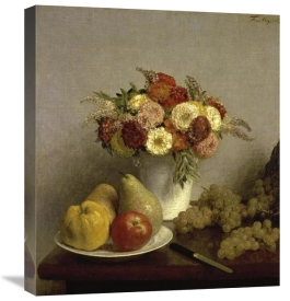 Henri Fantin-Latour - Flowers and Fruit Cuisine