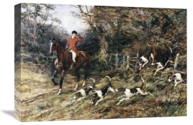Heywood Hardy - Calling Hounds Out of Cover