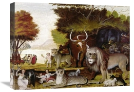 Edward Hicks - The Peaceable Kingdom (I)