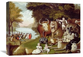 Edward Hicks - The Peaceable Kingdom (II)